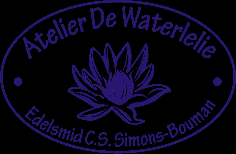 Logo voor AtelierDeWaterlelie