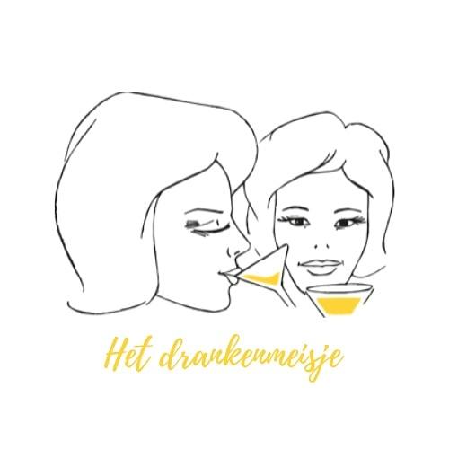 Logo voor het drankenmeisje